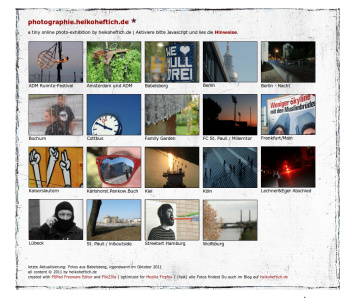 Link :: photographie.heikoheftich.de