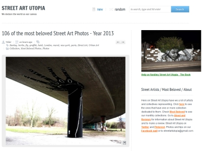 Screenshot Street Art Utopia